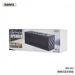 Remax RB-M3 Portable Bluetooth Speaker with Powerful Bass