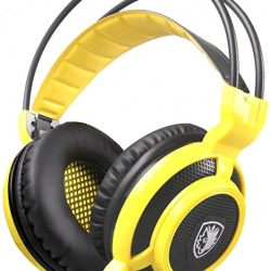 Motospeed H19 Wired Gaming Headset yellow