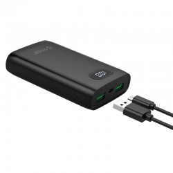ORICO 10000mAh Business Power Bank with Display Screen (FIREFLY-M10)