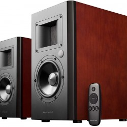 Edifier Airpulse A200 Active Speaker System Built-in Amplifier Optical, Coaxial, Bluetooth 4.0 aptX, and RCA Inputs - Pair