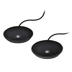Logitech Group Expansion Microphones (Pair) for Larger Video & Audio Conferencing (989-000171)
