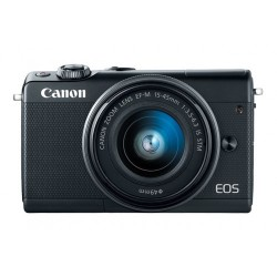 Canon Eos M100 24.1mp With 15-45mm is Stm Lens Full Hd Wi-fi Mirrorless Camera