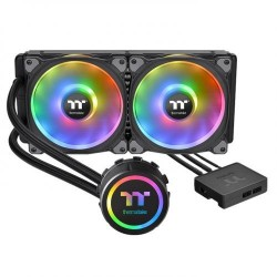 Thermaltake Floe DX RGB 280 TT Premium Edition/All-In-One Liquid Cooling System/Braided Tube/Riing Duo RGB Software Fan 140*2