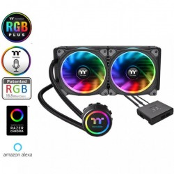 Thermaltake Floe Riing Rgb 280 Tt Premium Edition/all-in-one Liquid Cooling System/braided Tube/riing Plus Rgb Software Fan 140*2