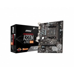 MSI A320M-A Pro Max AMD Motherboard