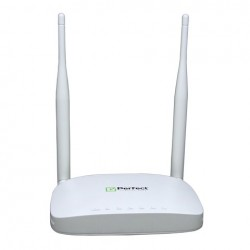Perfect Wireless Router WR300 N300 Mbps 1 Wan + 4 Lan 10/100 Dual 5dbi Ext Antenna
